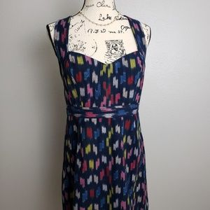 Anthro Staring at Stars Cotton Open Back Dress 12